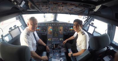 My last flight at 65