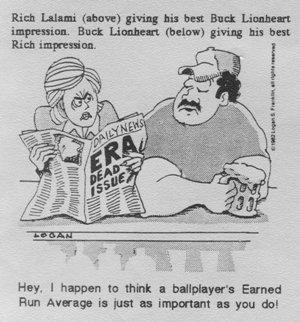 Buck Lionheart cartoon